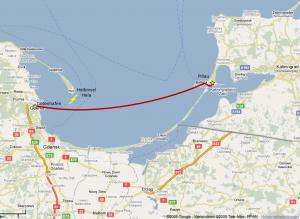 Der Weg von Pillau nach Gotenhafen