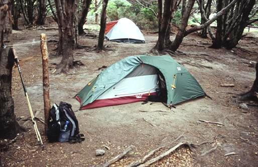 Zelten in Patagonien