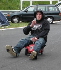 Bobbycarrennen am Ring