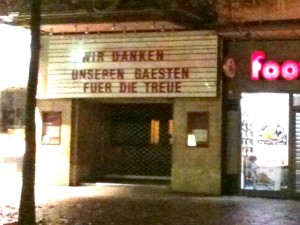 Geschlossen: Die Passage in der Mönckebergstraße