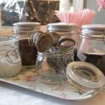 Teeangebot im Café