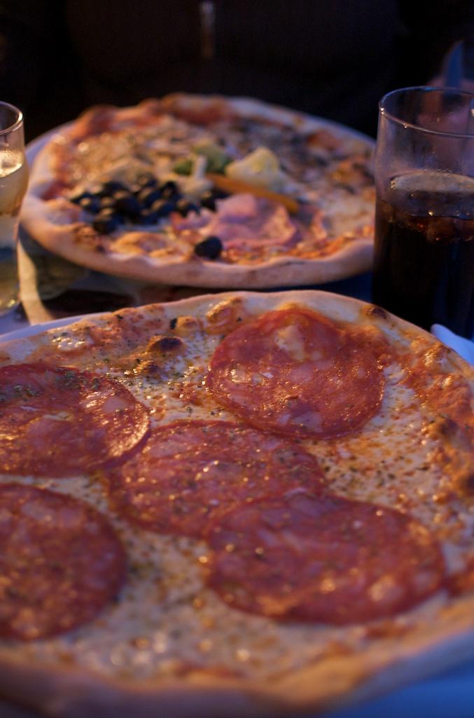 Pizza - lecker!