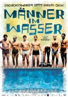 Männer im Wasser - Plakat