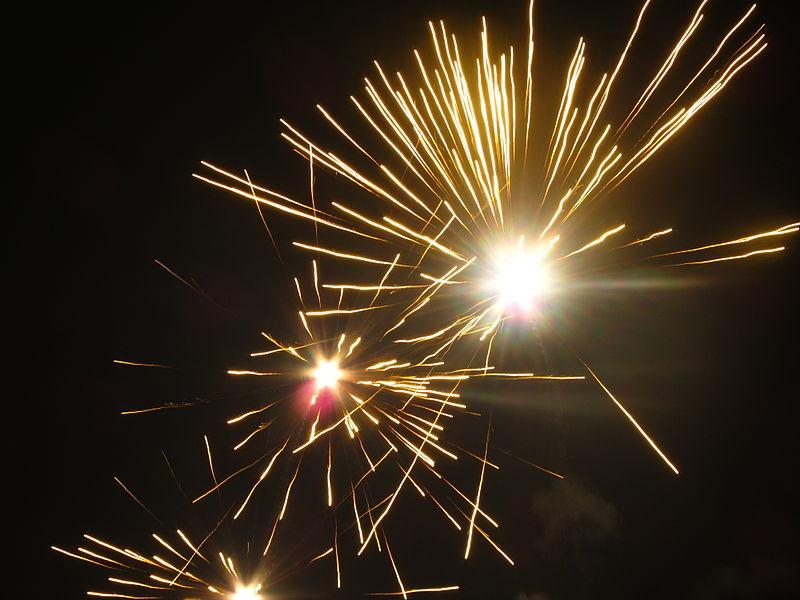 Fuochi d'artificio per capodanno 2012 a Padova